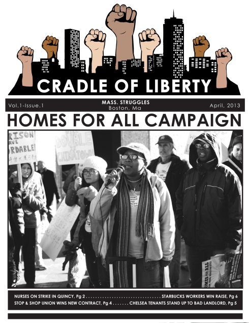 First Issue of The Cradle of Liberty - Out Now!